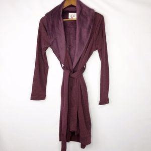 UGG Women's Blanche Robe NWOT Small -Port Heather